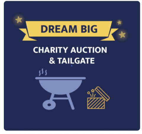 Join us for our annual Charity Auction, a virtual tailgate!